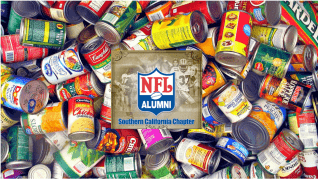 2018 NFL Alumni Southern California Canned Food Drive